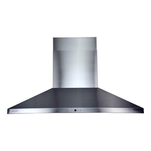 Wall-mounted Chimney-style 48-inch Stainless Steel Range Hood with 860 CFM Blower