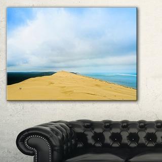 Cala Violina Bay Beach Tuscany - Oversized Landscape Wall Art Print