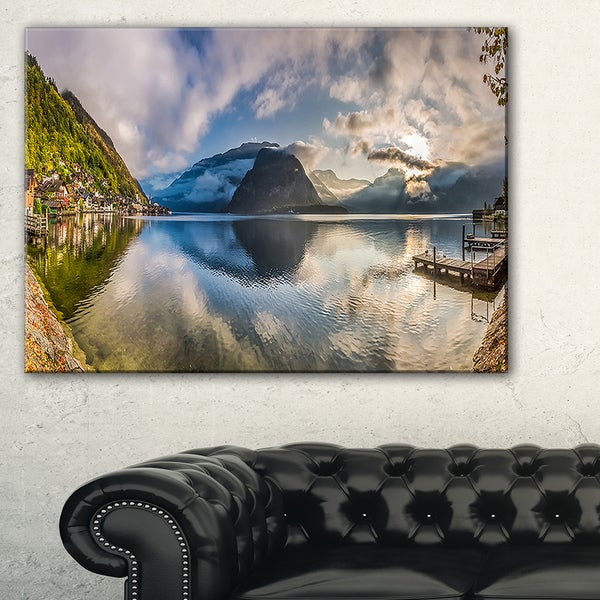 Fabulous Mountain Lake in Alps - Landscape Print Wall Artwork