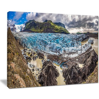 Huge Vatnajokull Glacier Panorama - Landscape Print Wall Artwork
