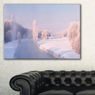 Bright Colorful Winter Day - Landscape Print Wall Artwork
