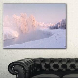 Frosty Winter Sunshine Panorama - Landscape Print Wall Artwork