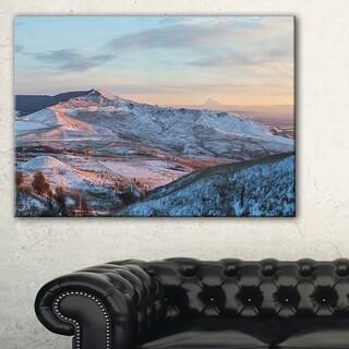 View from Mount Strizhament - Landscape Print Wall Artwork