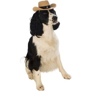 Pet Cowboy Hat Dog Costume
