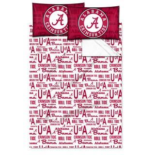 COL 821 Alabama 'Anthem' Full-size Sheet Set