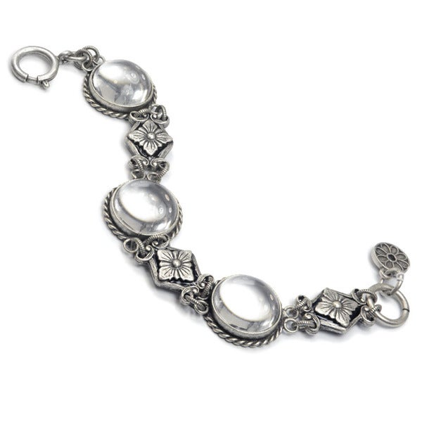 Sweet Romance Pools of Light Crystal Orb Bracelet 19649069