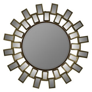Antique Gold Finish Stovall Wall Mirror