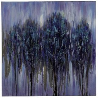'Midnight Forest' Canvas Wall Art