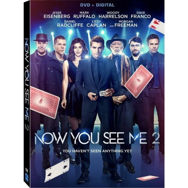 Now You See Me 2 (DVD) 19649749