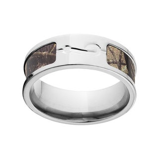 RealTree Multicolored Camo Titanium Ring