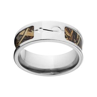 Titanium RealTree AP Camo Men's Ring