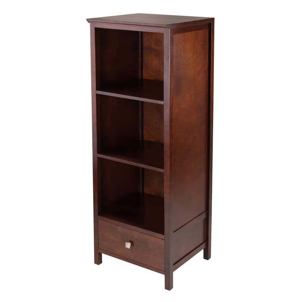 Brooke Jelly Wood Cupboard with 3 Shelves and Drawer