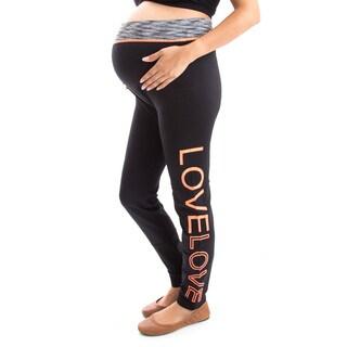 Women's Black Nylon/Spandex Soft Keep Warm Leggings