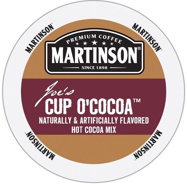 Martinson Cup O'Cocoa Hot Cocoa Mix RealCup Portion Pack for Keurig Brewers 19650579