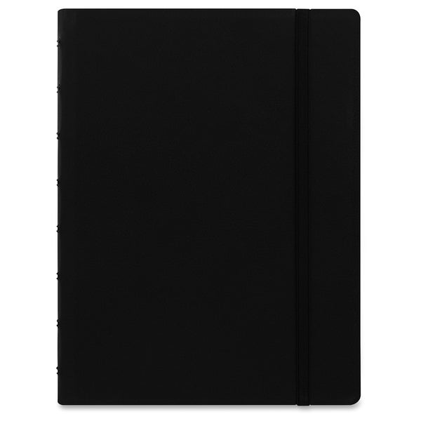 Rediform A5 Size Filofax Notebook - Black