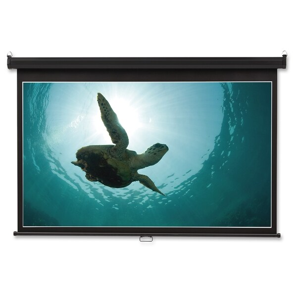 "Quartet Projection Screen - 105.7"" - 16:9 - Wall Mount - Black"