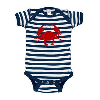 Rocket Bug Crab Cotton Baby Bodysuit