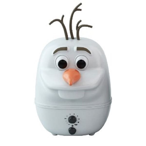 Disney Frozen Olaf White Ultrasonic Cool Mist Humidifier
