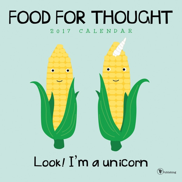 2017 Food for Thought Wall Calendar