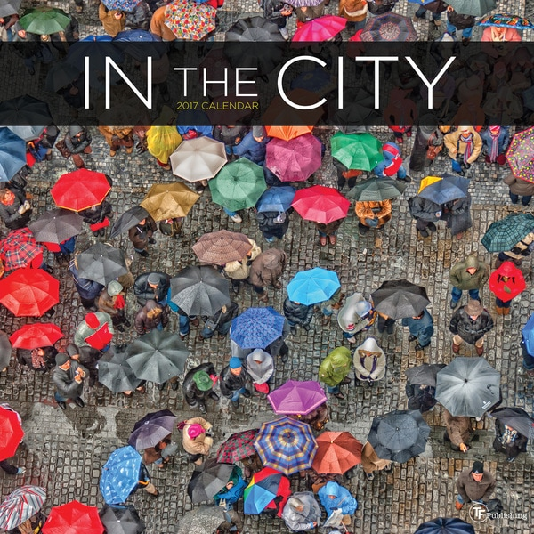 2017 In the City Wall Calendar