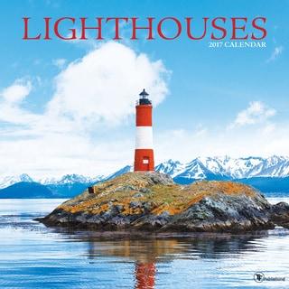 2017 Lighthouses Wall Calendar