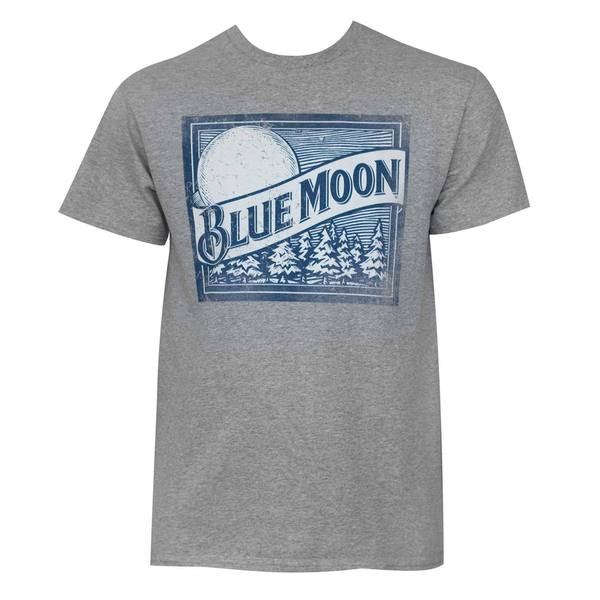 Blue Moon Grey Logo T-shirt