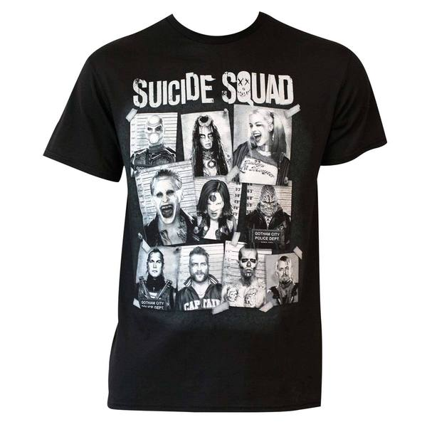 Suicide Squad Mugshot T-shirt