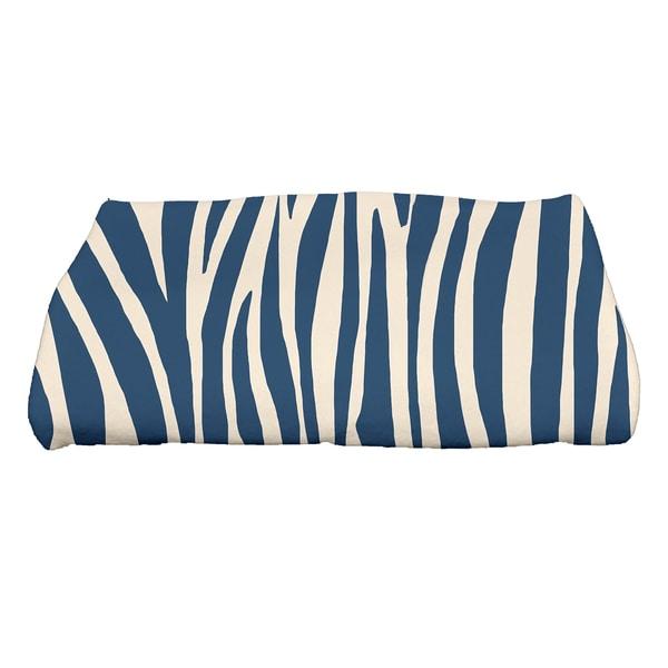 28 x 58-inch Wood Stripe Geometric Print Bath Towel