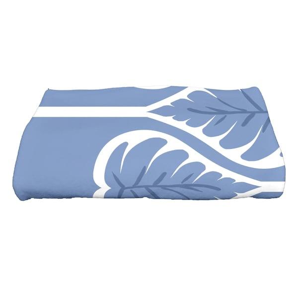 28 x 58-inch Fern 1 Floral Print Bath Towel