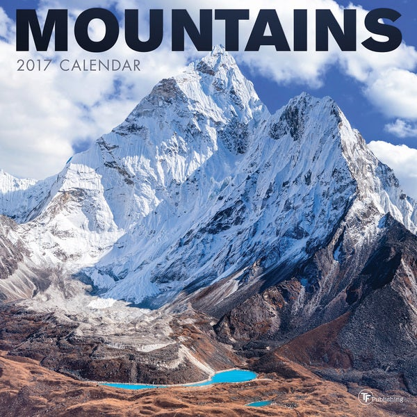 2017 Mountains Wall Calendar