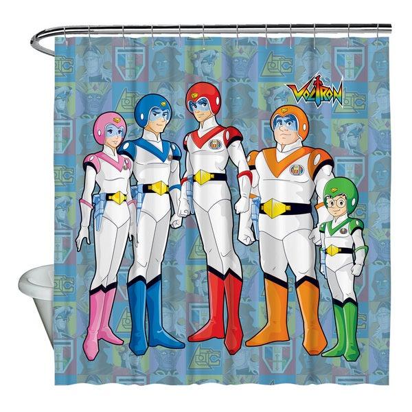 Voltron/Team Shower Curtain