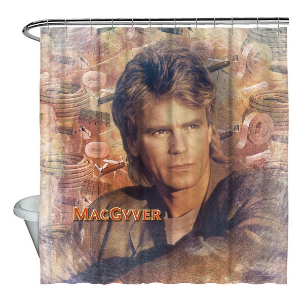 Macgyver/Tools Of The Trade Shower Curtain