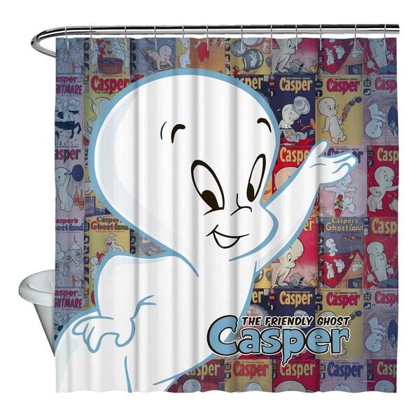 Casper The Friendly Ghost/Casper And Covers Shower Curtain