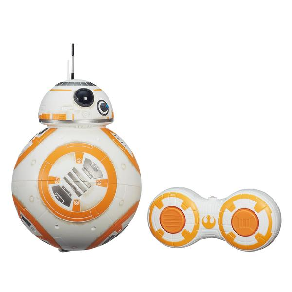 Hasbro White/ Orange Star Wars Remote Control BB-8 E7