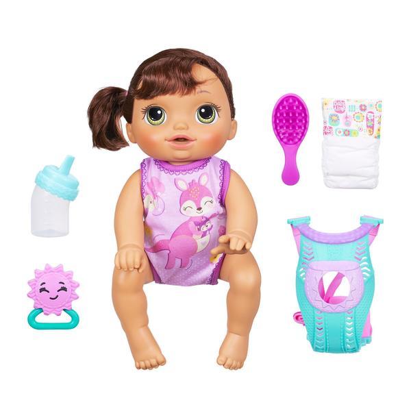 Baby Alive Baby Go Bye Bye Brunette Doll