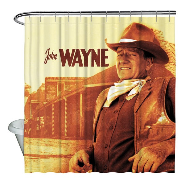 John Wayne/Old West Shower Curtain