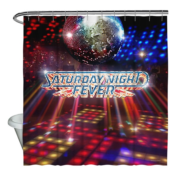 Saturday Night Fever/Dance Floor Shower Curtain