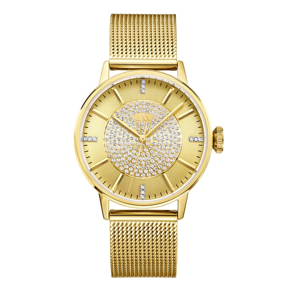 Jbw Women'S Belle Gold-Plated Stainless Steel Diamond Watch 19653836