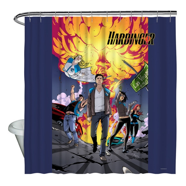 Harbinger/Explosive Shower Curtain