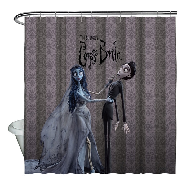 Corpse Bride/Bride And Groom Shower Curtain