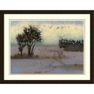 Framed Art Print 'Rustic Meadow I' by Jennifer Goldberger 30 x 23-inch