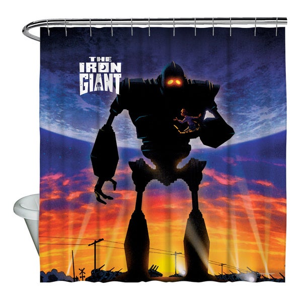 Iron Giant/Poster Shower Curtain