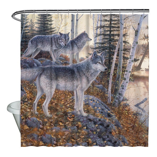 Wild Wings/Silent Travelers 2 Shower Curtain