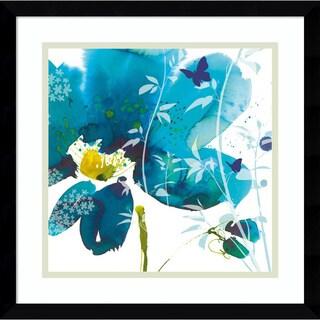 Framed Art Print 'Meadow' by Summer Thornton 16 x 16-inch
