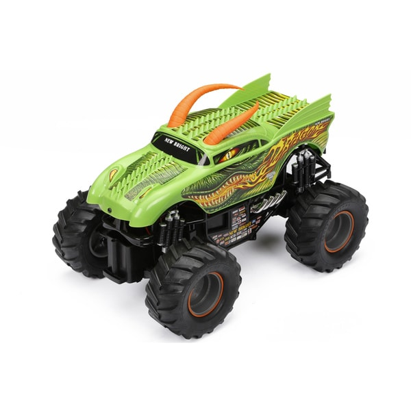 New Bright Remote Controlled Monster Jam Dragon Truck
