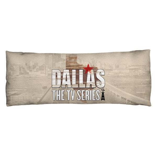 Dallas/Logo Plush Fleece Body Pillow