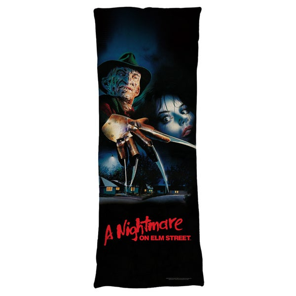 Nightmare On Elm Street/Freddy Poster Plush Fleece Body Pillow