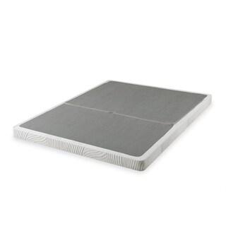Priage 4-inch King-size Low Profile BiFold Folding Mattress Foundation