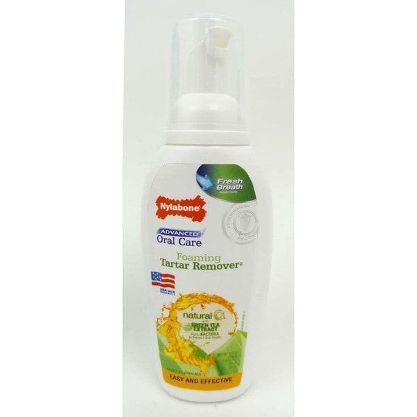 Nylabone Advanced Oral Care Natural Fresh 4oz Foaming Tartar Remover