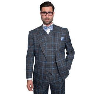 Sorento Men's Indigo Statement Suit